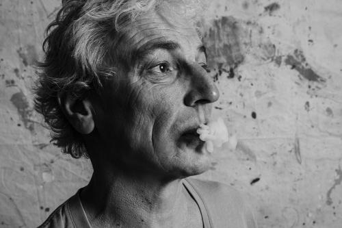 Portrait noir & blanc en studio | Philippe DUREUIL Photographie