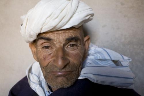 Portrait d'un homme nomade au Maroc | Philippe DUREUIL Photographie
