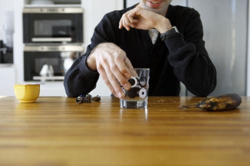 Homme à la pause déjeuner dans l'entreprise | Philippe DUREUIL Photographie