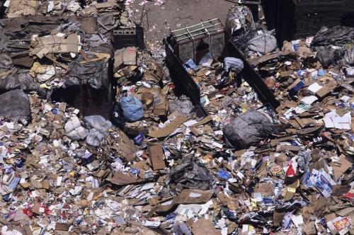 Trie et valorisation des déchets par les chiffonniers du Caire | Philippe DUREUIL Photographie