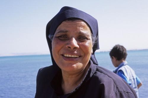 Portrait de Sœur Sara réalisé en Égypte | Philippe DUREUIL Photographie