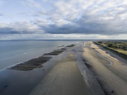 Photo aérienne par drone réalisé à Utah Beach. | Philippe DUREUIL Photographie