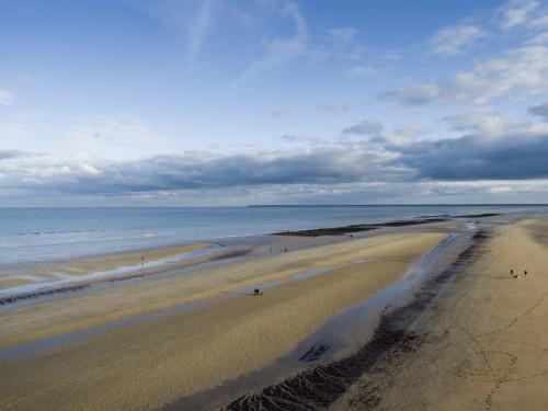 Photo aérienne par drone réalisé à Utah Beach | Philippe DUREUIL Photographie