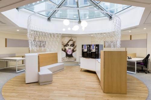 Photographe d'architecture décoration de bureaux réalisée pour l'agence de design Groupe Idoine à Paris | Philippe DUREUIL Photographie