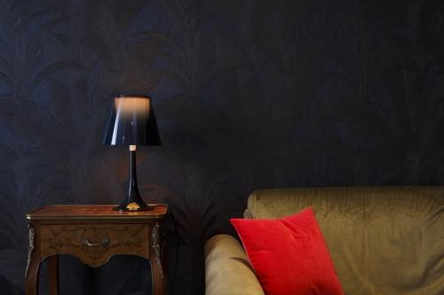 Photographie d'architecture intérieure & décoration d'une chambre d'hôtel de luxe réalisée pour l'agence d'architecture et design Idoine à Paris. | Philippe DUREUIL Photographie