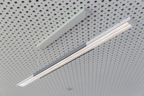 Photographie de luminaire, suspension design réalisée par la société Radian Eclairage. | Philippe DUREUIL Photographie