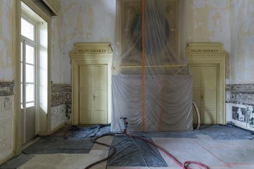 Restauration du Théâtre du Châtelet. Travaux dans le foyer. | Philippe DUREUIL Photographie