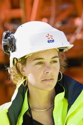 Reportage photo corporate réalisé à l'EPR de Flamanville pour EDF et Socotec | Philippe DUREUIL Photographie