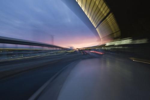 Photographie de l'aéroport Roissy Charles de Gaulle réalisé pour le Groupe Spie Batignolles. Agence : Thélème. DA : Brigitte Chenu. | Philippe DUREUIL Photographie
