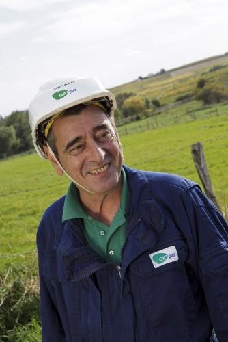 Reportage corporate sur le terrain réalisé pour l'entreprise GRTgaz. | Philippe DUREUIL Photographie