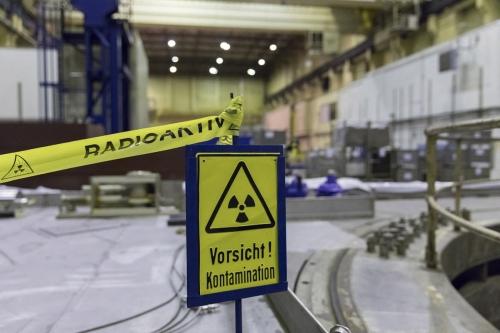 Centrale nucléaire en démantèlement de Greifswald, déconstruction du hall 3. | Philippe DUREUIL Photographie