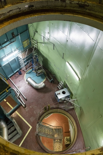 Photo du chantier de démantèlement de la centrale nucléaire de Greifswald. | Philippe DUREUIL Photographie