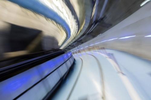Galerie souterraine de la centrale nucléaire de Chooz A. | Philippe DUREUIL Photographie