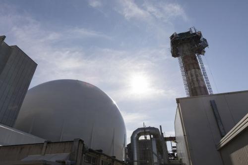Chantier de démantèlement de la centrale nucléaire de Garigliano. | Philippe DUREUIL Photographie