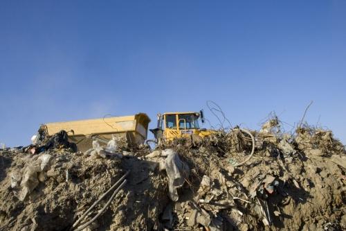 Reportage photo développement durable sur un chantier de dépollution des sols | Philippe DUREUIL Photographie