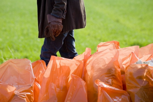 Collecte citoyenne de déchets le long des berges de la Seine - Reportage réalisée pour la Mairie d'ÉPÔNE | Philippe DUREUIL Photographie