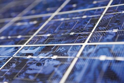 Panneau solaire - Photographie développement durable réalisée pour Interface Flor en Hollande | Philippe DUREUIL Photographie
