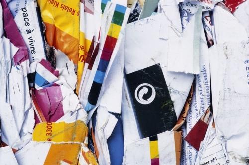 Balle de papier pour reçyclage | Philippe DUREUIL Photographie
