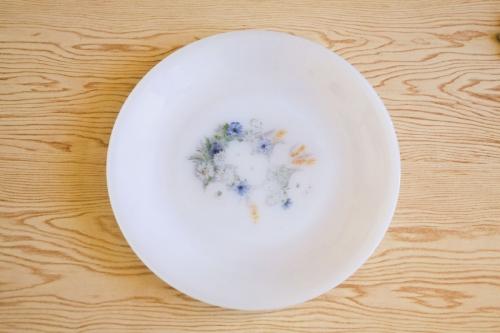 Assiette sur une table vue en plongée | Philippe DUREUIL Photographie