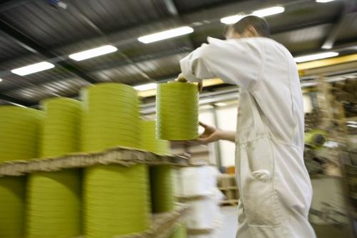 Atelier industriel de tissage | Philippe DUREUIL Photographie