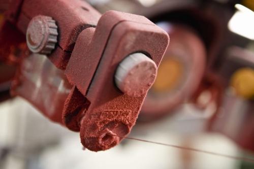 Reportage industriel réalisé pour le groupe Ferrari Textiles | Philippe DUREUIL Photographie