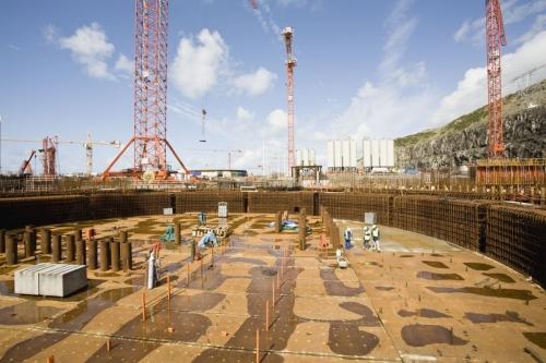 Reportage industriel réalisé sur le chantier de l'EPR de Flamanville pour les groupes industriels EDF et SOCOTEC | Philippe DUREUIL Photographie