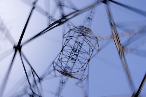 Photographie industrielle graphique réalisée en contre plongée | Philippe DUREUIL Photographie