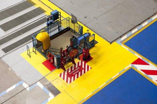 Photo industrielle centrale nucléaire