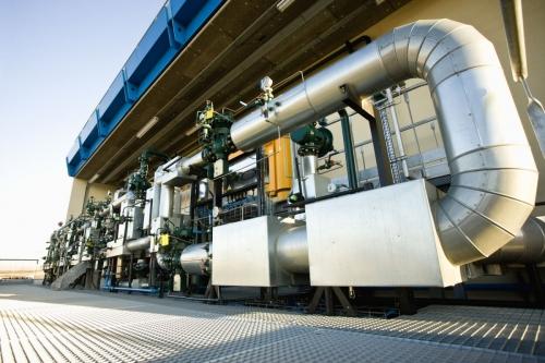 Photographie industrielle réalisée sur un site industriel de GRTgaz | Philippe DUREUIL Photographie