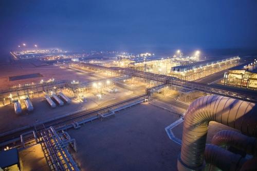 Terminal méthanier de Idku en Égypte - Photo industrielle réalisée pour GDFSUEZ | Philippe DUREUIL Photographie