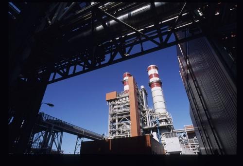 Photographie industrielle de la centrale DK6 réalisée pour GDFSUEZ | Philippe DUREUIL Photographie