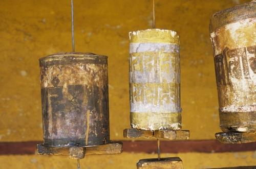 Moulins à prières au gompa de Likir | Philippe DUREUIL Photographie