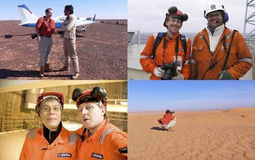 Reportage industriel pour Total EP en Mauritanie et pour Gaz de France en Norvège sur la plate-forme de Troll A | Philippe DUREUIL Photographie