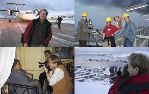 En Norvège en hiver et en Égypte en été - Portrait de sœur Sara, Les Chiffonniers du Caire | Philippe DUREUIL Photographie