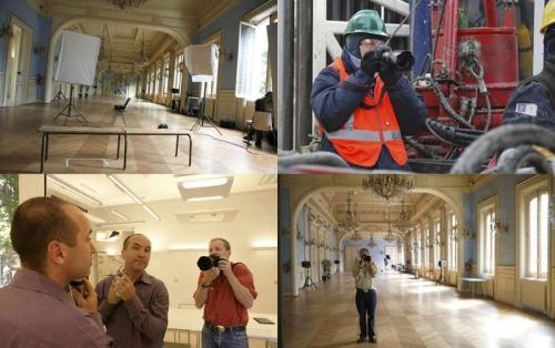 Shooting portraits à la Mairie du XXème - En reportage industriel pour Hess Oil | Philippe DUREUIL Photographie