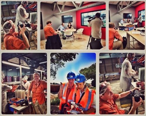 Reportage photo industriel et corporate pour GRTgaz - Rencontre avec des maraîchers aux Serres de la Piogerie. Photos : Brigitte Leforestier | Philippe DUREUIL Photographie