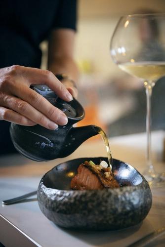 Reportage photographique au restaurant gastronomique Le Lièvre Gourmand | Philippe DUREUIL Photographie