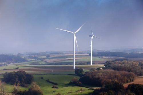 Photographie aérienne réalisée au dessus de la Drôme pour GRTgaz | Philippe DUREUIL Photographie
