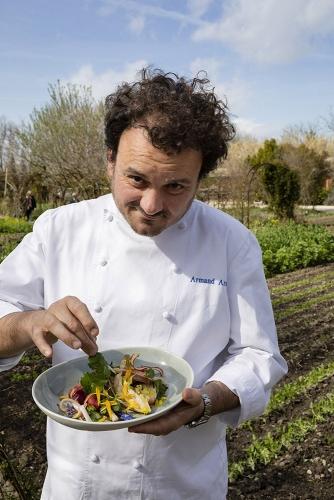 Armand Arnal, Chef étoilé du restaurant La Chassagnette à Arles | Philippe DUREUIL Photographie