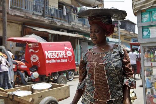 Livraison Nescafé® à Abidjan | Philippe DUREUIL Photographie