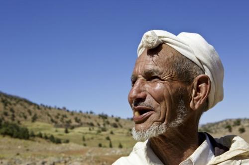 Photo de portrait d'un homme berbère nomade | Philippe DUREUIL Photographie