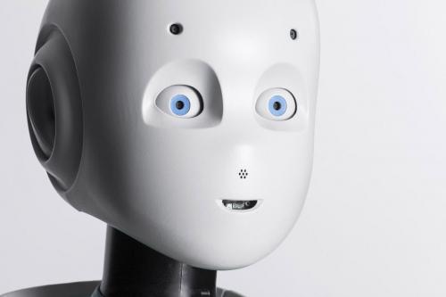 Photographie de packshot. Portrait du robot Roméo réalisé en studio pour Aldebaran SoftBank Robotics. Agence Toma. DA : Aurélien Esquivet. | Philippe DUREUIL Photographie