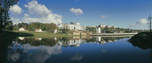 Lac au parc Arboretum de Montfermeil 93