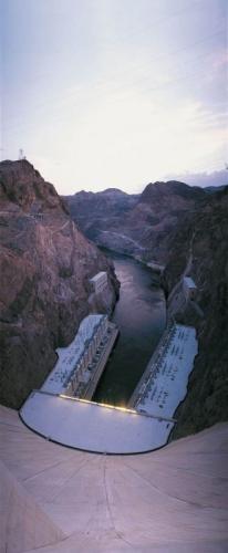 Photographie panoramique de paysage du barrage de Hoover dam aux USA Colorado | Philippe DUREUIL Photographie