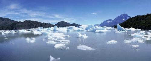 Photographie panoramique de la fonte des glaces et des glaciers | Philippe DUREUIL Photographie