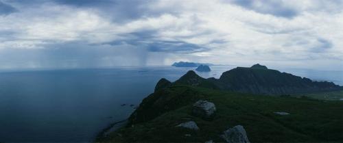 Photo panoramique réalisée aux îles Lofoten en Norvège. | Philippe DUREUIL Photographie