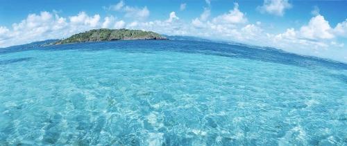 Photo panoramique de l'Ilet Oscar en Martinique