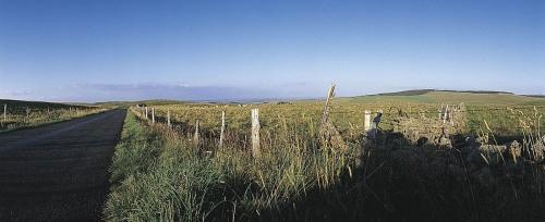 Photographie panoramique de paysage de l'Aubrac réalisée dans le département du Cantal, France. | Philippe DUREUIL Photographie
