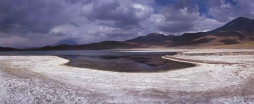 Photographie panoramique de paysage réalisée sur l'Altiplano au Chili. | Philippe DUREUIL Photographie