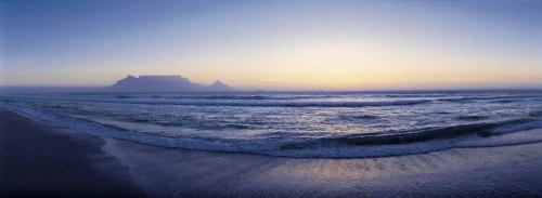 Paysage panoramique en Afrique du Sud